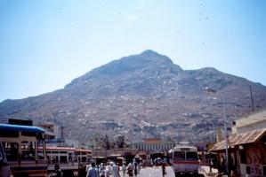 1 arunachala 1989 - barren mtn dry rocks